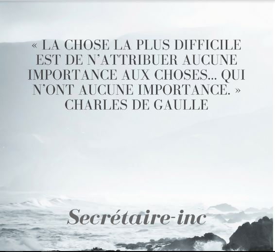 La Citation De La Semaine Secretaire Inc Secretaire Inc Com