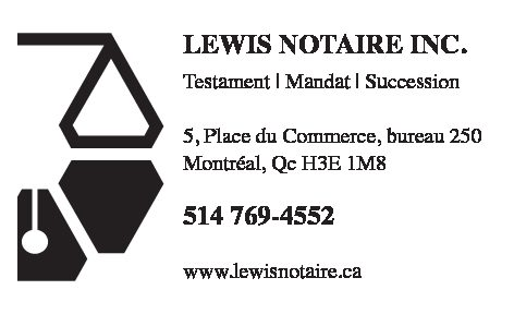 Lewis notaire inc.